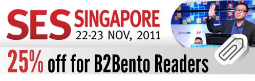 SES Singapore 25% Off - B2Bento Discount Code BENTO25