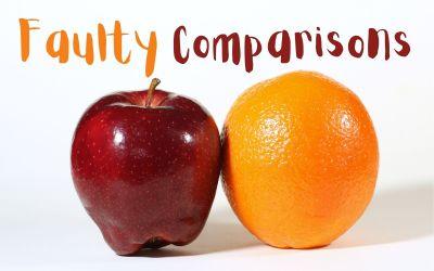 Avoiding Faulty Comparisons
