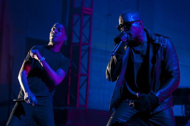 Kid Cudi Brings Out Kanye West During Coachella Performance