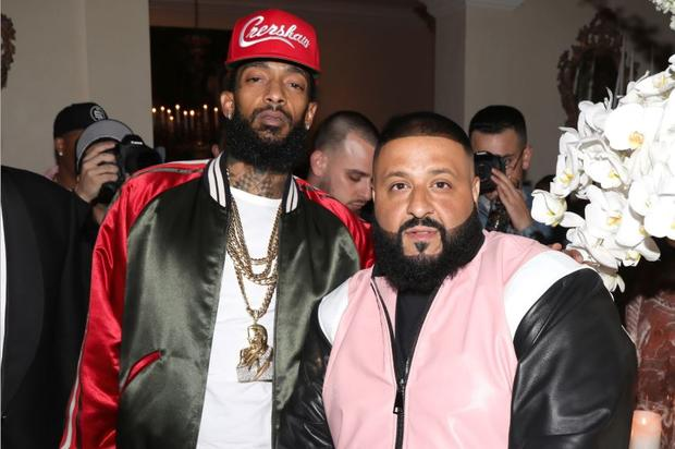 DJ Khaled Will Donate All Profits From Nipsey Hussle Collaboration To Rapper's Children