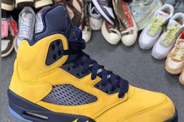 """Air Jordan 5 Retro SP """"Inspire"""" Drops In August: Closer Look"""