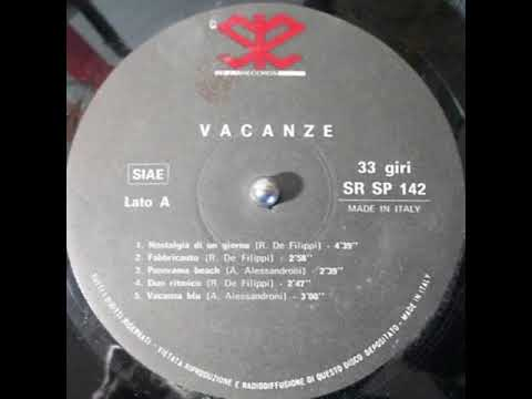 Samples: A. Alessandroni – Vacanza blu