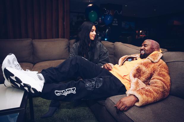 Kanye West & Kim Kardashian Celebrate Anniversary With Celine Dion