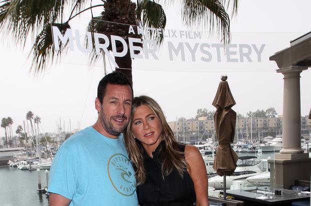 Adam Sandler & Jennifer Aniston's