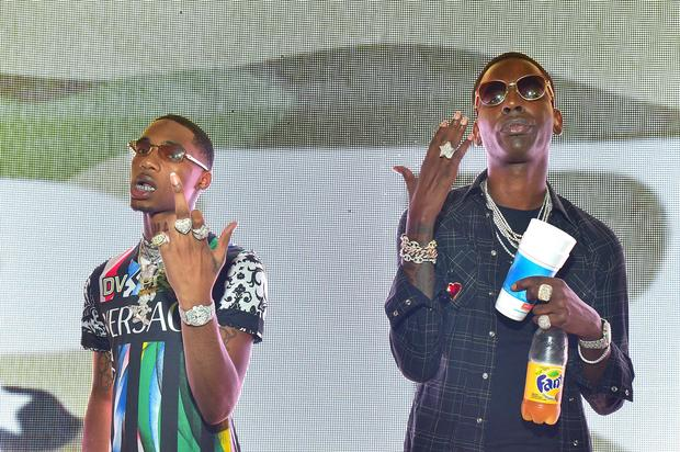 No One Knows Why Key Glock Keeps Posting Videos Of Himself Destroying Young Dolph's Cars