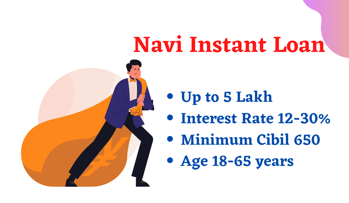 Navi Instant Personal Loan-Up to @ 5 Lakh Loan Online