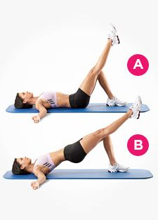 Exercise 1: Single leg bridges