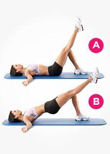 Exercise 1: Single leg bridges
