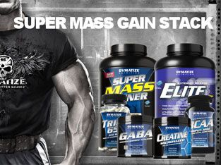 Super Mass Gain Stack supplement by Dymatize
