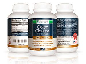 HealthyNowNutritionals Colon Cleanse Detox Plus