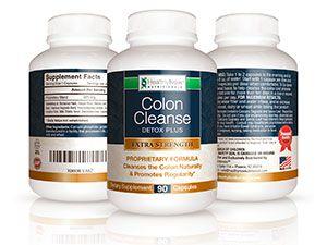 HealthyNowNutritionals Colon Cleanse Detox Plus