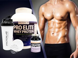 Protein and creatine: we recommend both of them