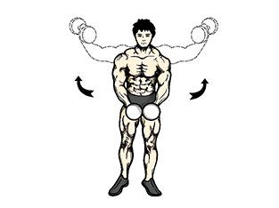 Workout 4: Dumbbell lateral raise