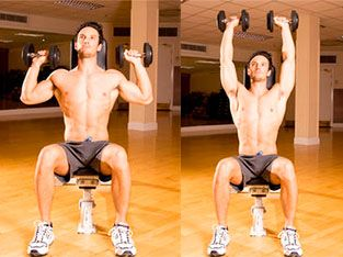 Workout 2: Dumbbell overhead press