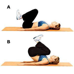 Exercise 2: Knee pull-in