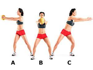 Exercise 2: Medicine Ball Side Throw