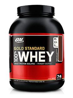 Gold Standard 100% Whey by Optimum Nutrition