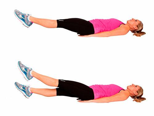Flutter Kicks exercise