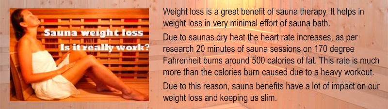 Saunas Cause Weight Loss