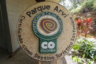 55 Parque Arvi Sign sm
