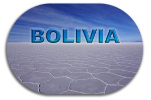 Bolivia Button