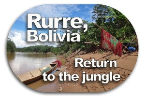 Rurrenabaque Bolivia Jungle Return Button
