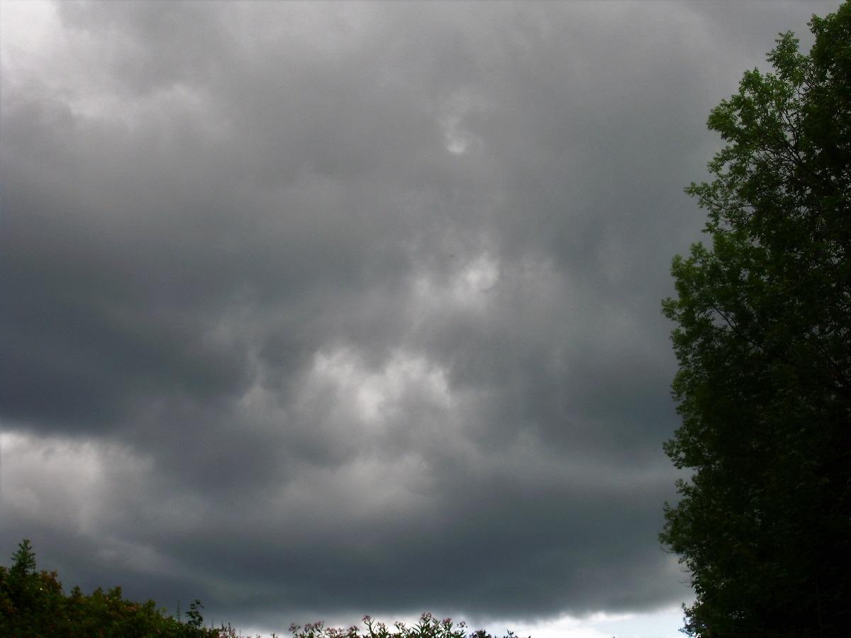 Tempesta in arrivo nella Foresta Nera