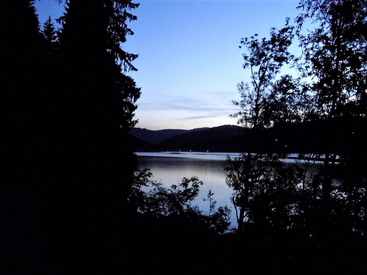 Titisee al tramonto