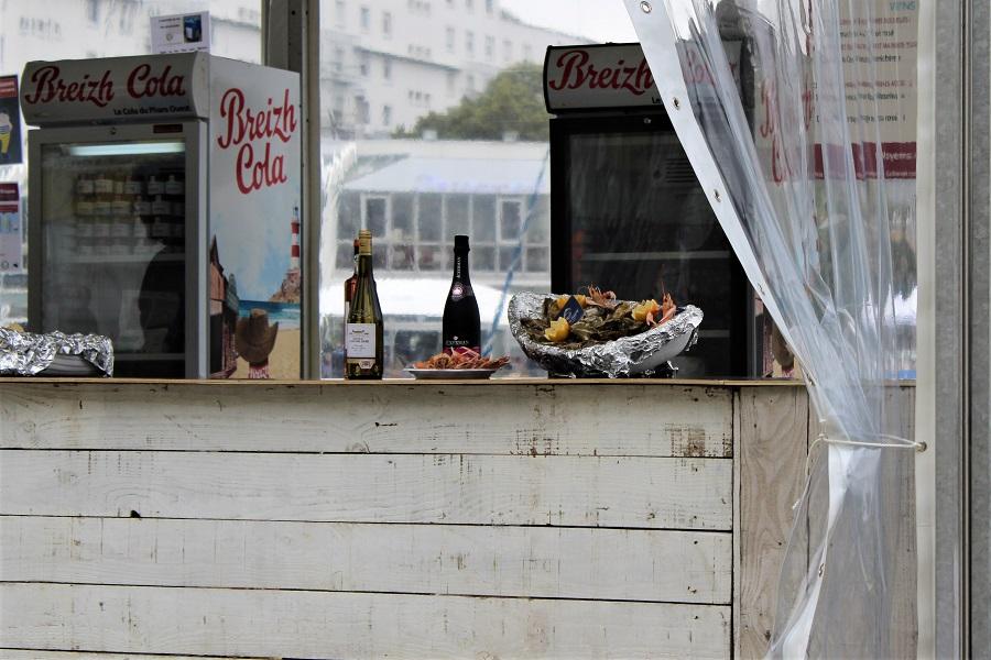 Festival Interceltico di Lorient - ostriche e champagne