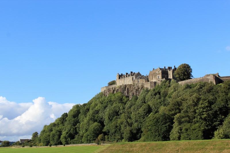 Stirling, il castello e la Battaglia di Bannockburn