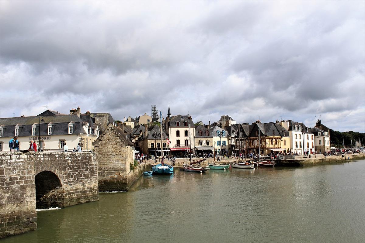 Auray port de saint goustan