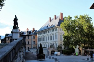 Chambery Il castello dei duchi di savoia
