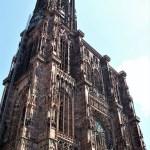 Strasburgo facciata della cattedrale