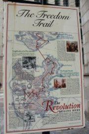 Mappa del Boston Freedom Trail