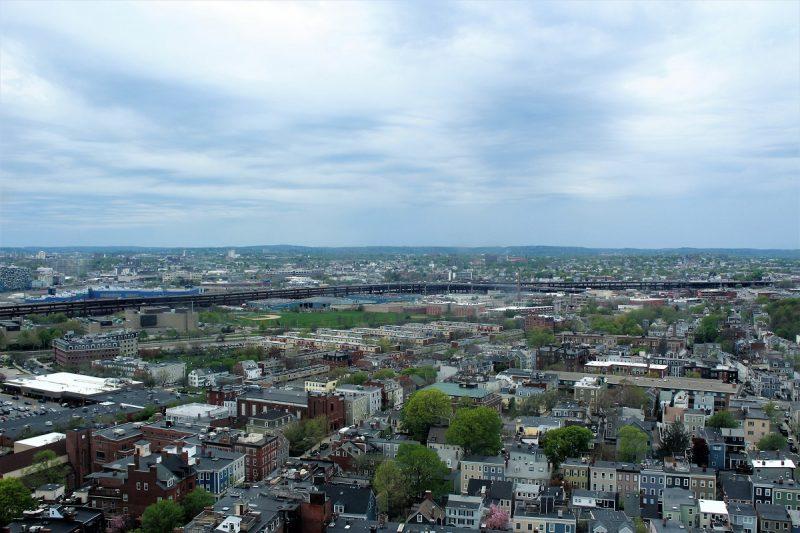 Boston Freedom Trail - Skyline di Boston