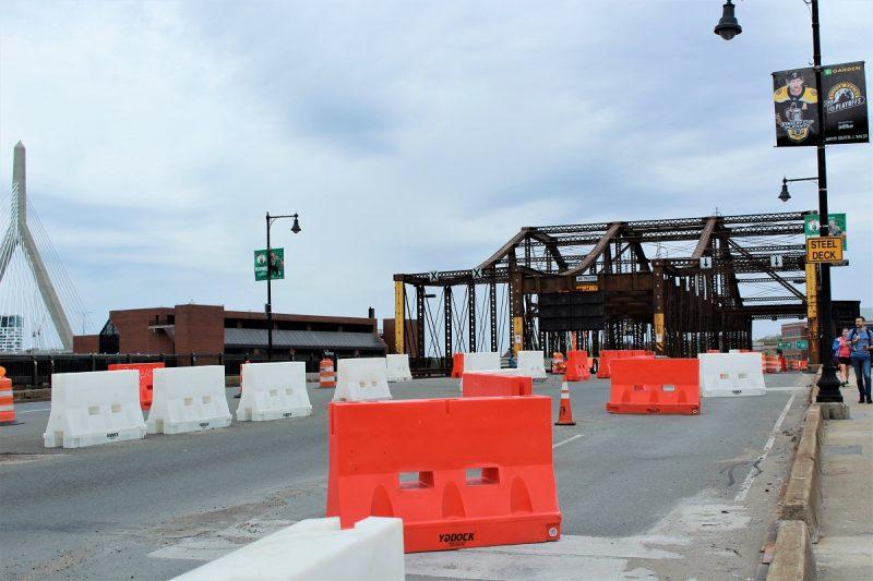Boston Charlestown Bridge