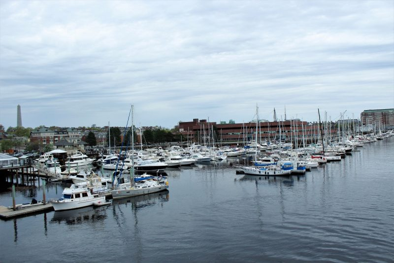Boston Charlestown il porto