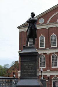 Boston freedom trail Fenauil Hall