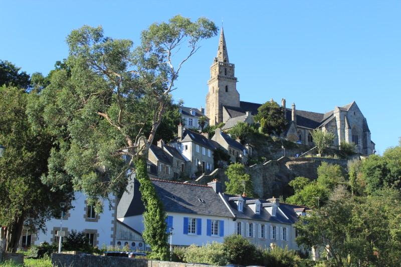 Lannion e la scala di Brélévenez