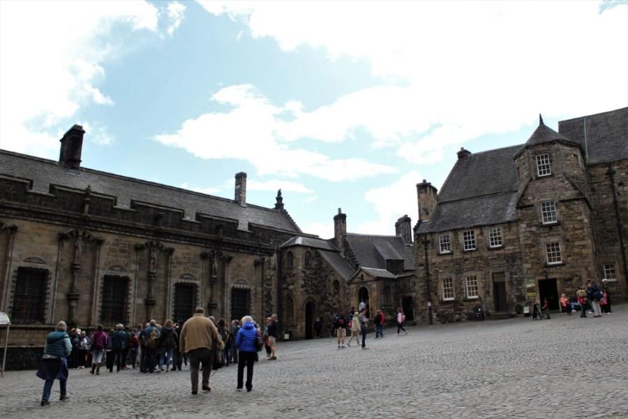 Castle - Stirling-Castle-piazzale-interno