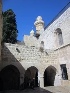 Monte-Sion - Gerusalemme-Ingresso-per-la-tomba-di-David.jpg