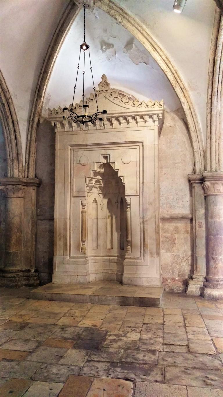 Monte-Sion - Gerusalemme-miḥrāb-nel-Cenacolo.jpg