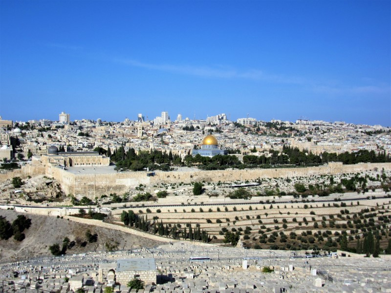 Gerusalemme, la storia raccontata dal Monte degli Ulivi