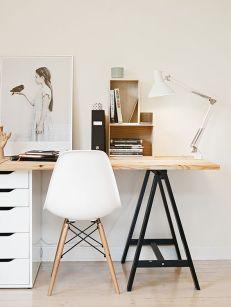 An urban minimalist workstation.