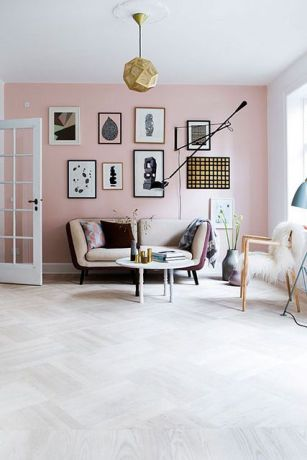 Neutrals with a hint of hot pink.