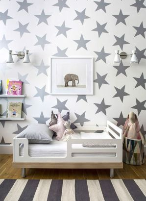 A bold wallpaper fit for any boy or girl.