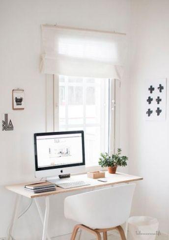 Place your desk near a window.