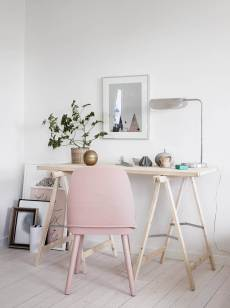 Plants can add more life to your workspace.