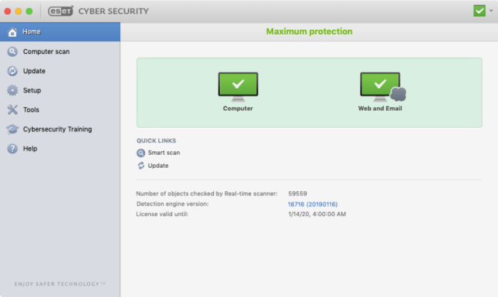 ESET Cyber Security 6.10.700 Crack With License Key 2021 Free Download