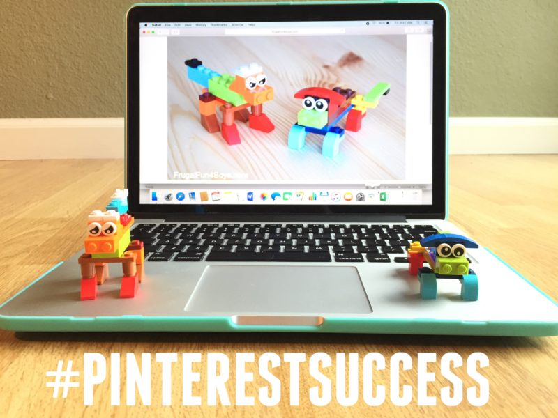 My son loves (and hates) Pinterest but we've had success a few times, like this lego design from FrugalFun4Boys.com. My son loves Pinterest and is inspired by it but also gets frustrated! (I know the feeling!)